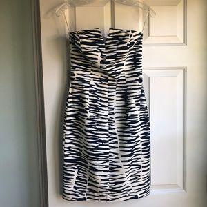 NWT Stunning Trina Turk Strapless Mini Dress